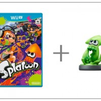 WiiU Splatoon + amiibo Splatoon Squid31096