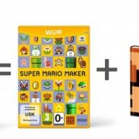WiiU Super Mario Maker + Artbook + Modern Mario31133