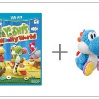 WiiU Yoshi's Woolly World + Yarn Yoshi L-Blue31153