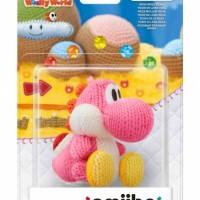 WiiU Yoshi's Woolly World + amiibo Yarn Yoshi Pink31157