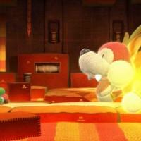 WiiU Yoshi's Woolly World + amiibo Yarn Yoshi Pink31160
