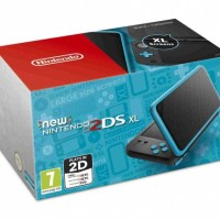 New Nintendo 2DS XL Black & Turquoise33296