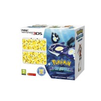 New Nintendo 3DS White+Pokémon AS+Pikachu Faceplat25505
