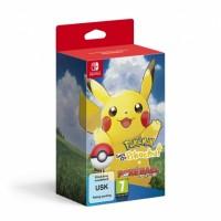 SWITCH Pokémon Let's Go Pikachu! + Poké Ball Plus39093