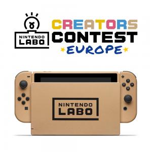 A Nintendo Labo Alkotói Verseny területi dobogósai kiválasztásra kerültek (Csehország, Szlovákia, Lengyelország, Magyarország)