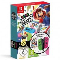 SWITCH Super Mario Party + Joy-Con Pair Green/Pink39673