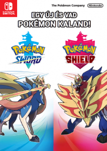 A Pokémon Sword és Pokémon Shield már kapható! Fedezd fel a Galar régiót akár már ma!